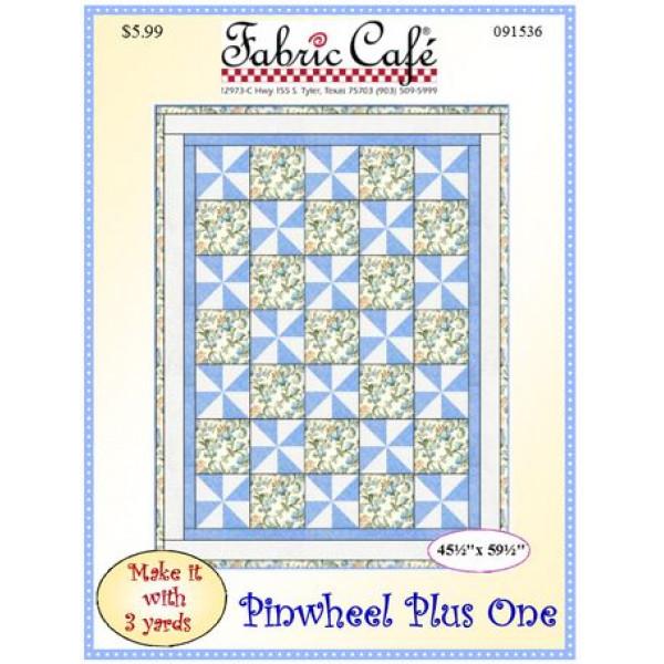 Pinwheel Plus One Quilt Pattern