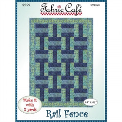 Rail Fence Quilt Pattern