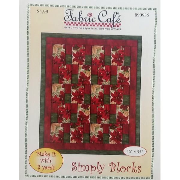 Simply Blocks Quilt Pattern