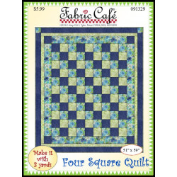 Four Square Quilt Pattern