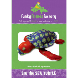 Stu Sea Turtle Pattern