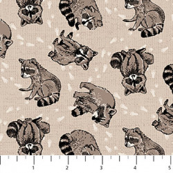 Woodland Pitter Pat Racoon