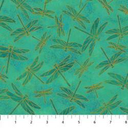 Koi Pond Dragonflies