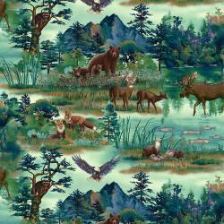 Woodland Wonders Scenic Animals