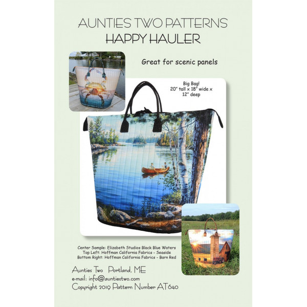Happy Hauler Bag Pattern