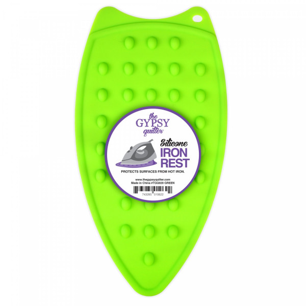 Green Silicone Iron Rest