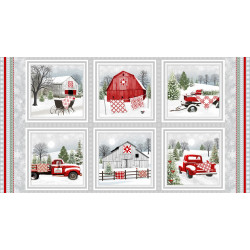Holiday Heartland Barns/Truck Panel