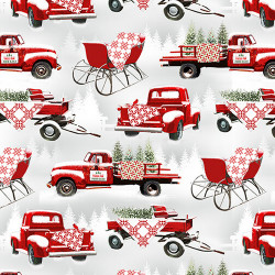 Holiday Heartland Barns/Truck All Over