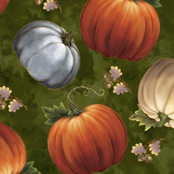 Pumpkins/evergreen