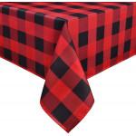 "Buffalo Plaid Tablecloth 60"" x 102"""