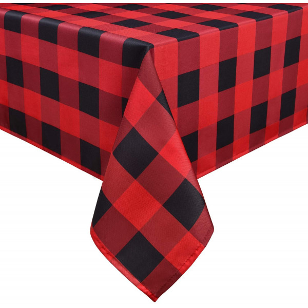 "Buffalo Plaid Table Cloth 60"" x 84"""