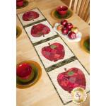 Patchwork Apple Table Runner