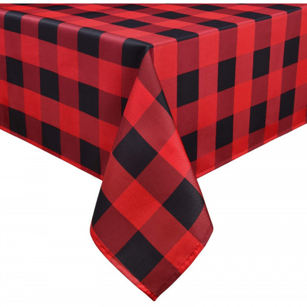 "Buffalo Plaid Tablecloth 60"" x 102"""