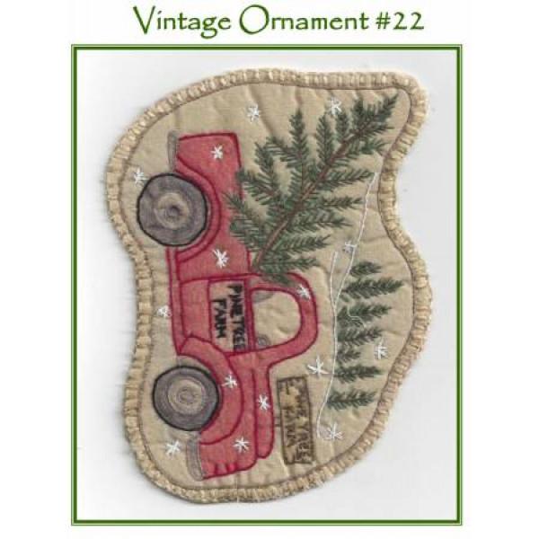Santa's Truck Ornament