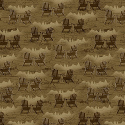 Twilight Lake Adirondack Chairs