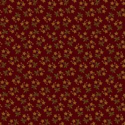 Moonshine Starflowers on Red