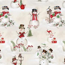 December Magic Snowman