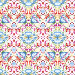 Gypsy Dreams Floral Tile