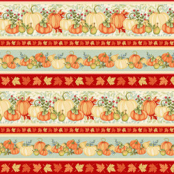 Pumpkin Spice Border Print