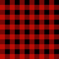 FLANNEL Timber Gnomes Buffalo Plaid