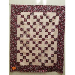 Country 9 Patch Quilt Top
