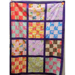 Flower Boxes Quilt Top