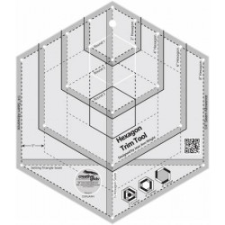 Creative Grids Hexagon Trim Tool