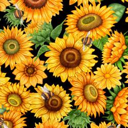 Always Face Sunshine Packed Sunflowers