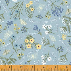 Meadow Whispers Lt. Blue Floral