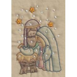 Nativity Embroidery Kit