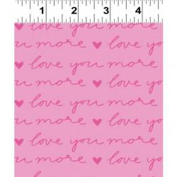 Pen Pal Love You More Lt. Fuschia