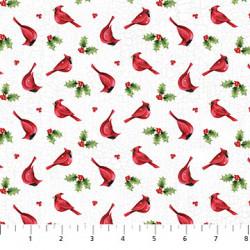 Winter Welcome Mini Cardinals