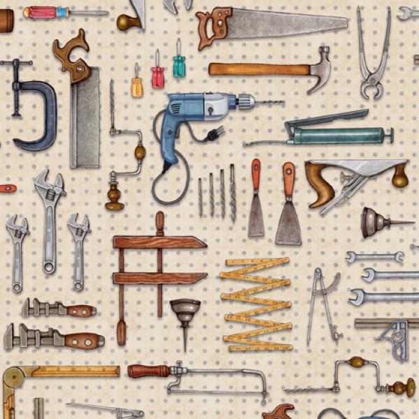 A Little Handy Tool Pegboard