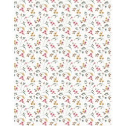 A Country Weekend Floral Vines Ivory