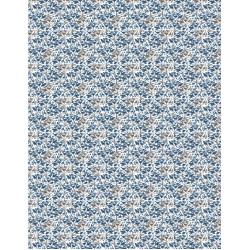 Awakening Small Floral Blue