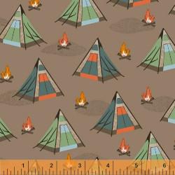 Bear Camp Tents on Tan