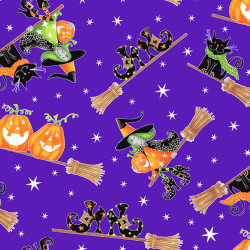 Here We Glow Flying Witches