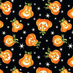 Here We Glow Tossed Pumpkins