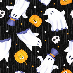 Glow Ghosts Tossed Ghosts