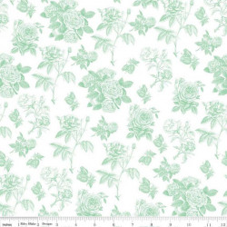 Sew Charmine--Mint Toile