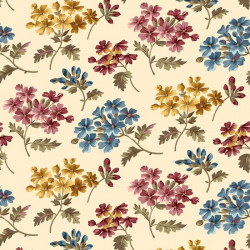 Fairfield--Spaced Floral Cream