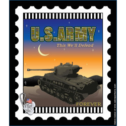 US Army Stamp