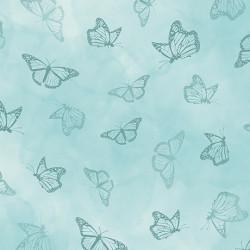 Serenity Prayer Butterfly Aqua