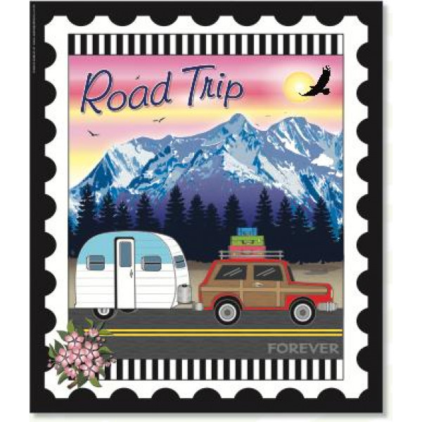 Road Trip Stamp