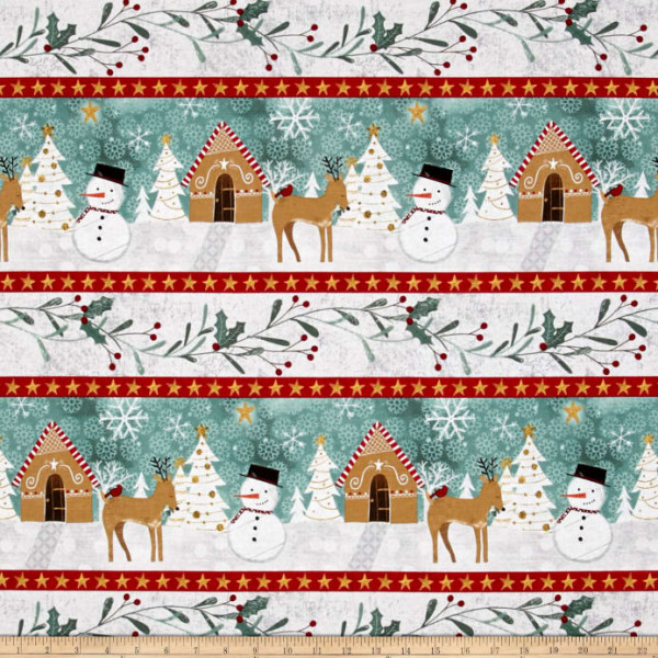 Frosted Holiday--border print