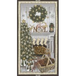 Christmas Mantel Panel