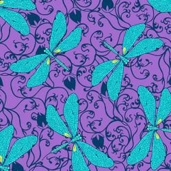 Hayden Dragonflies-Purple