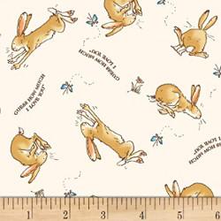 Flannel Bunny/Words on Cream