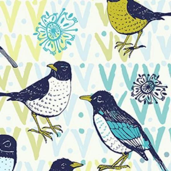 Birds on Cream