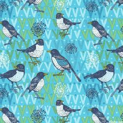 Birds on Green